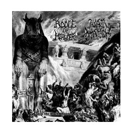 Riddle of Meander/Warmarch - Into the Black Thrones of Sitra Ahra  EP